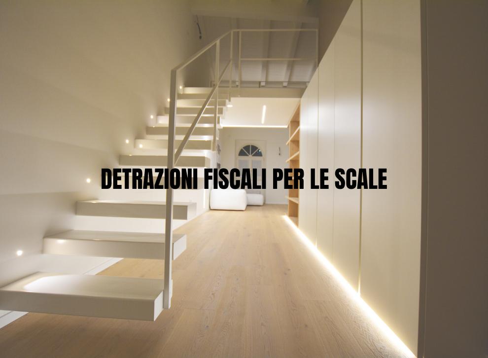 detrazioni fiscali per le scale